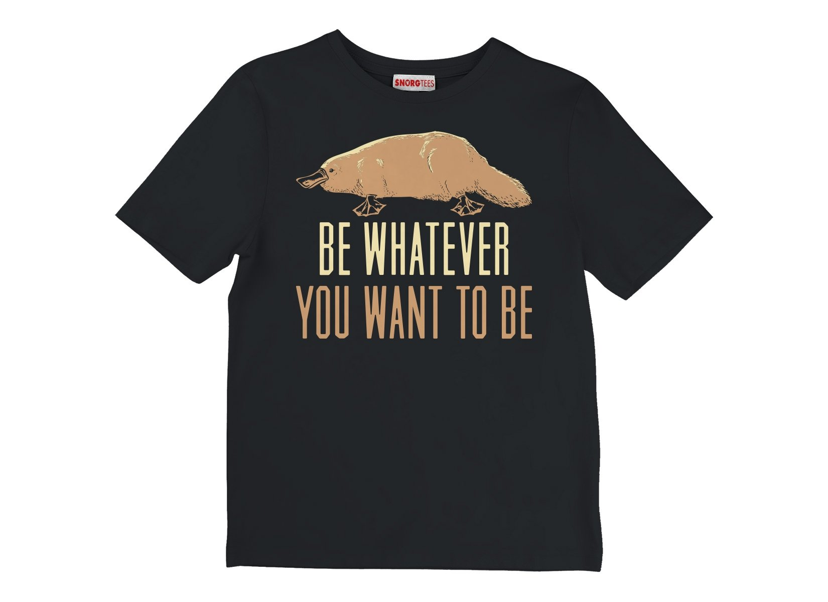 Be Whatever You Want To Be on Kids T-Shirt