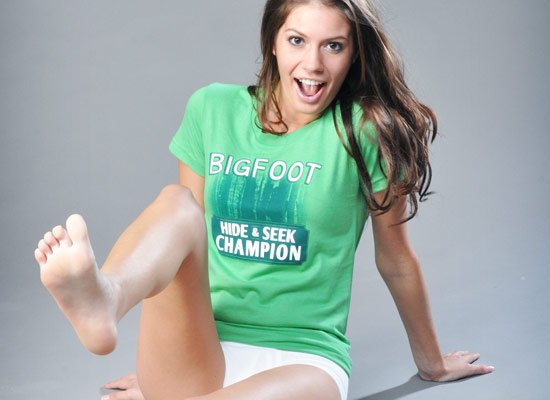 Bigfoot Hide And Seek Champion on Juniors T-Shirt