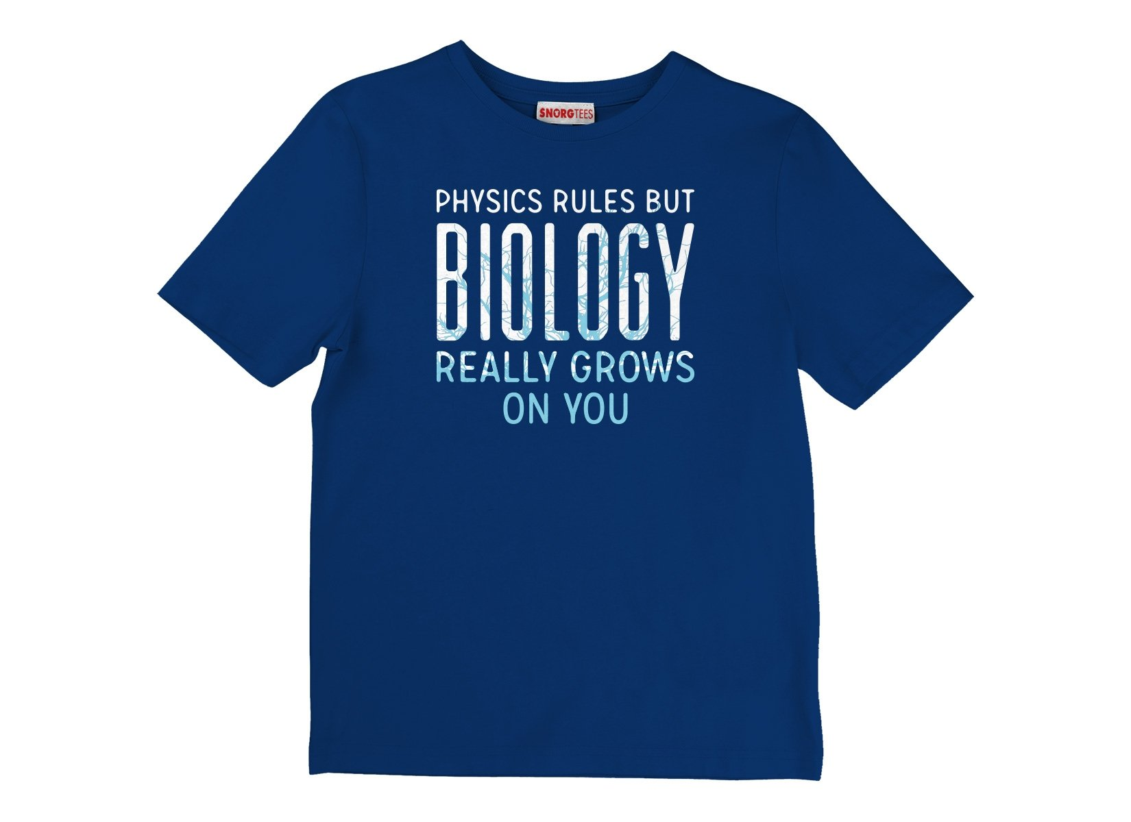 Biology Really Grows On You on Kids T-Shirt