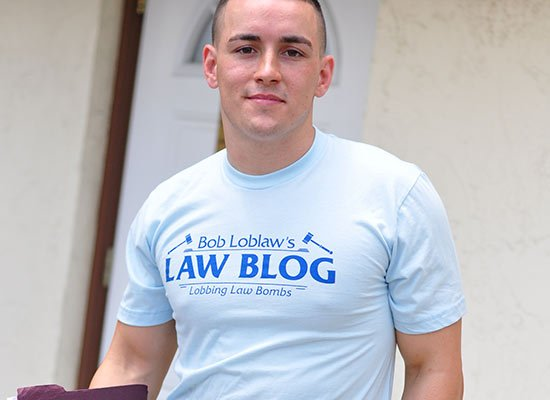 Bob Loblaw's Law Blog on Mens T-Shirt