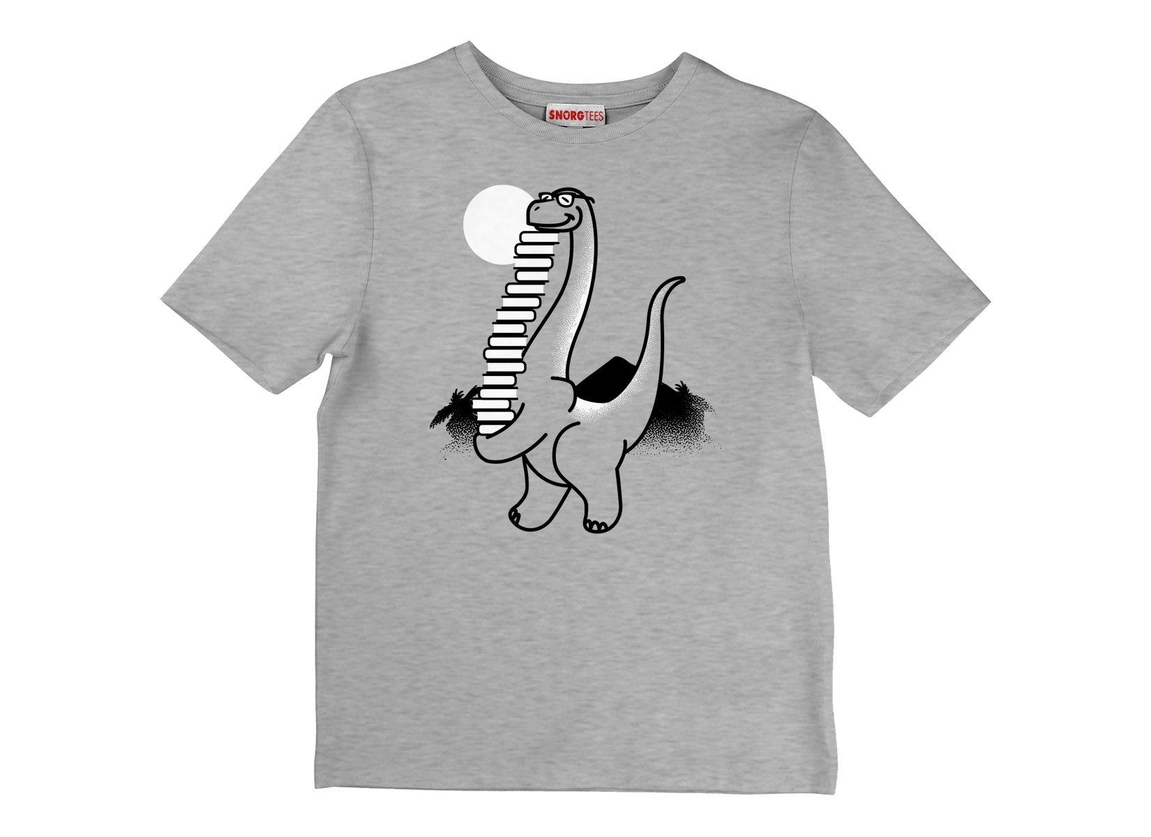 Bookosaurus on Kids T-Shirt