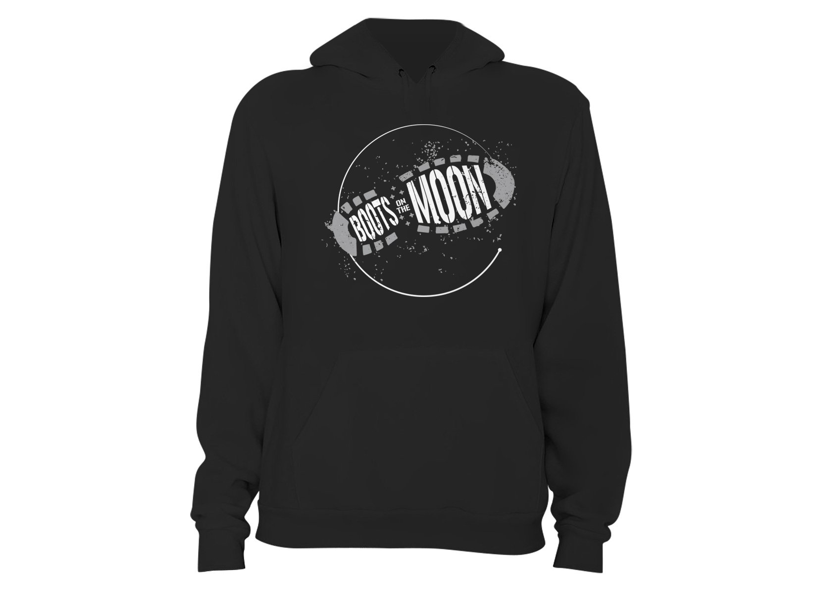 Boots On The Moon on Hoodie