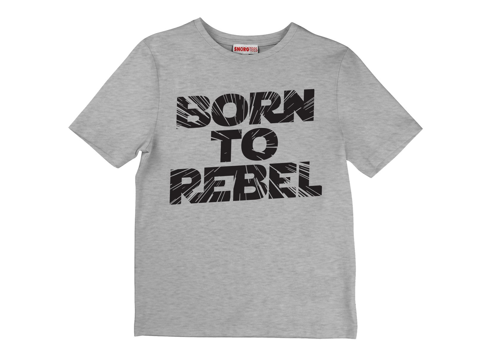 Born To Rebel on Kids T-Shirt