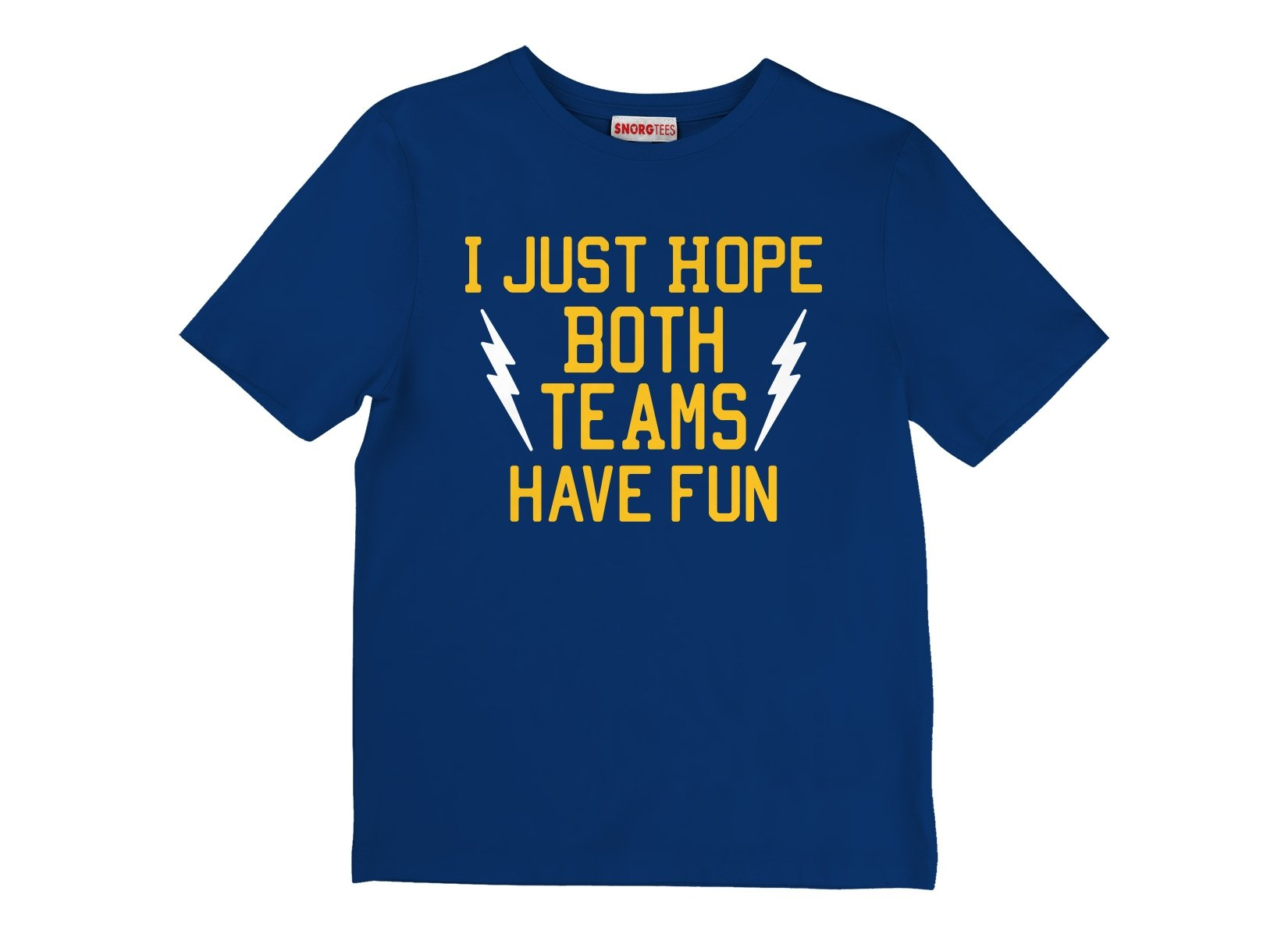 I Just Hope Both Teams Have Fun on Kids T-Shirt
