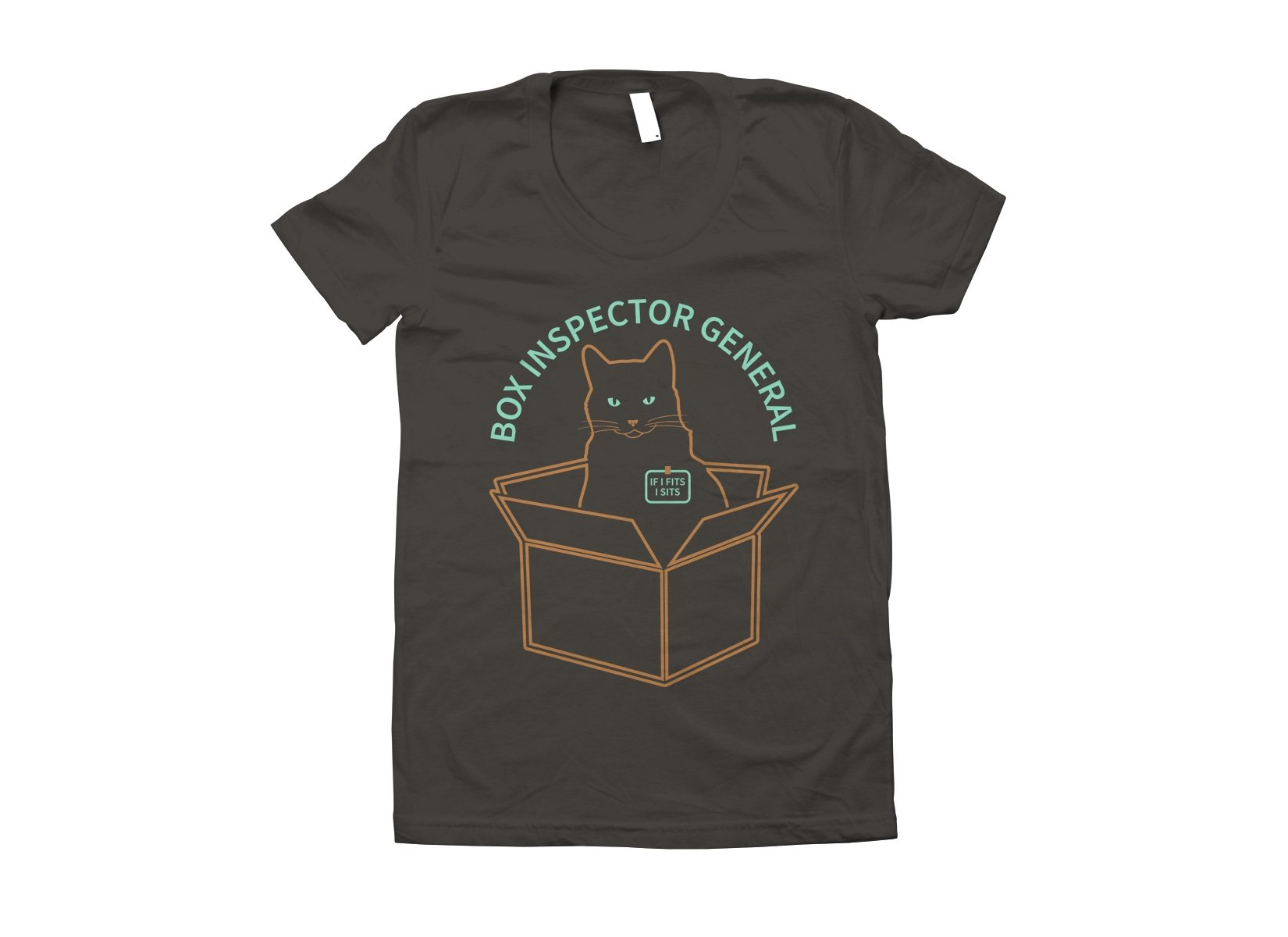 Box Inspector General on Juniors T-Shirt