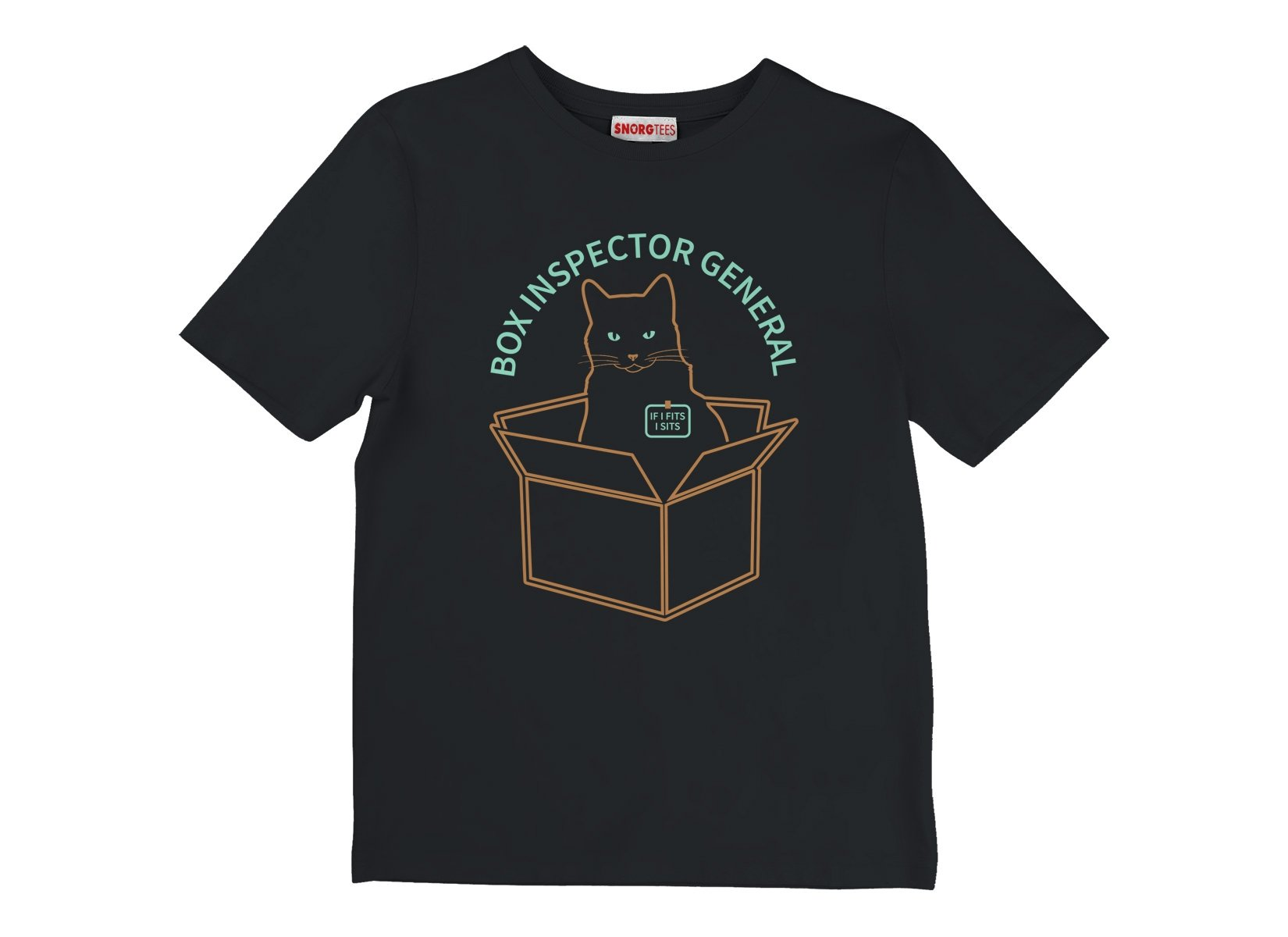 Box Inspector General on Kids T-Shirt