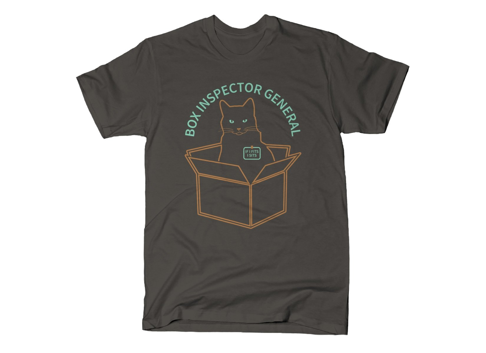 Box Inspector General on Mens T-Shirt