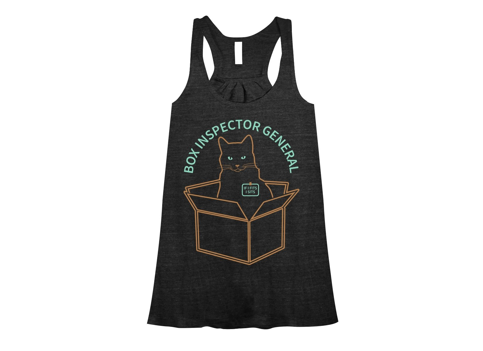 Box Inspector General on Womens Tanks T-Shirt
