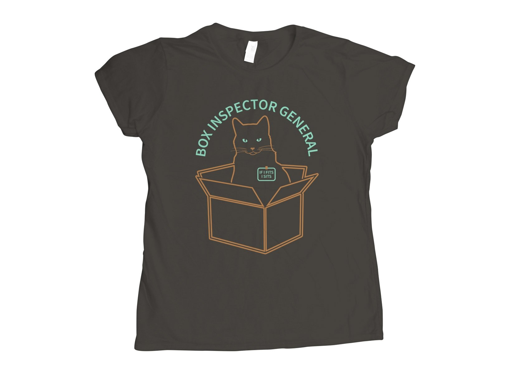Box Inspector General on Womens T-Shirt