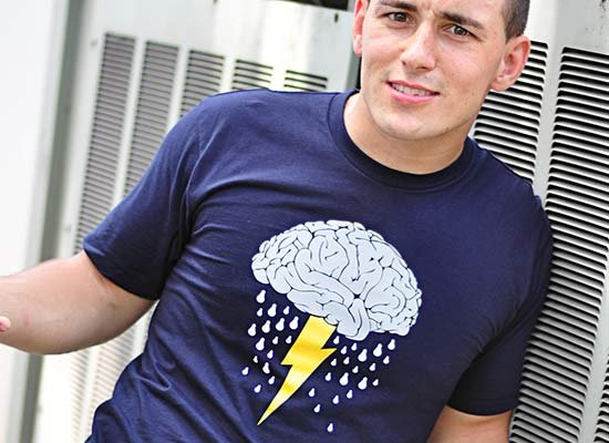 Brainstorm on Mens T-Shirt