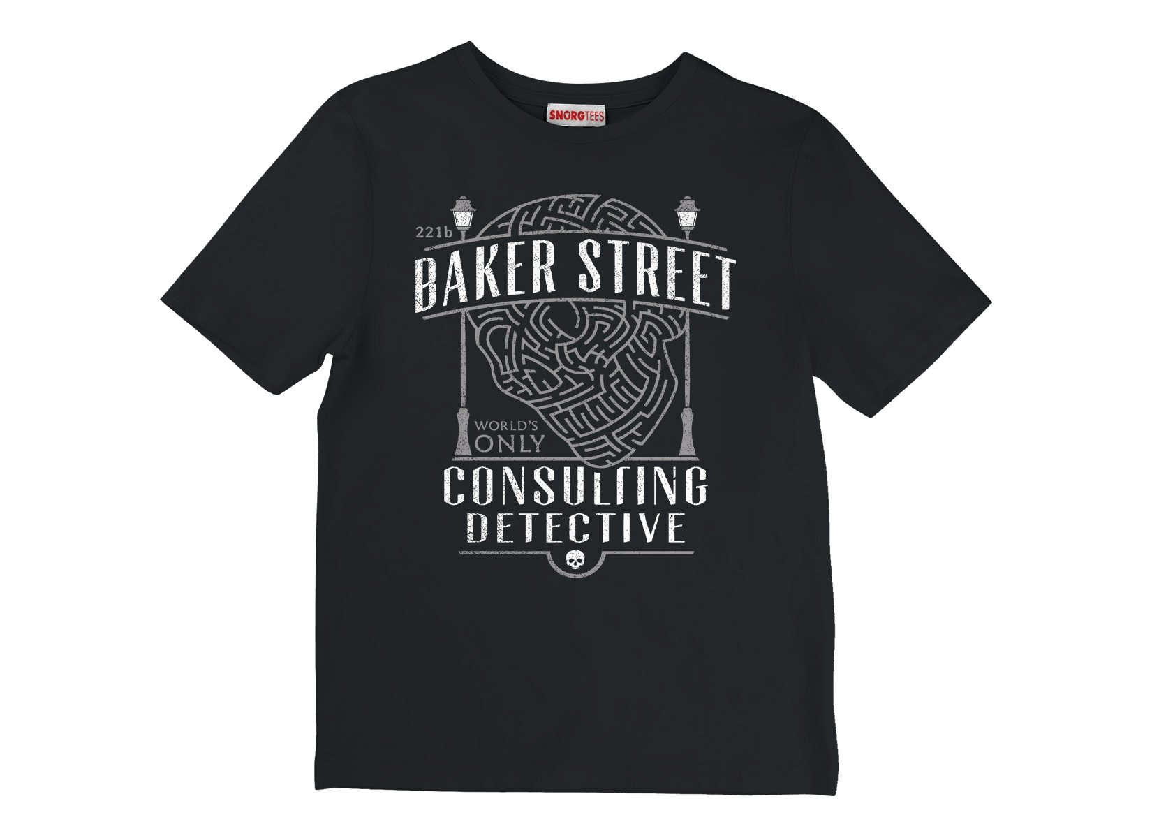 Baker Street Consulting Detective on Kids T-Shirt