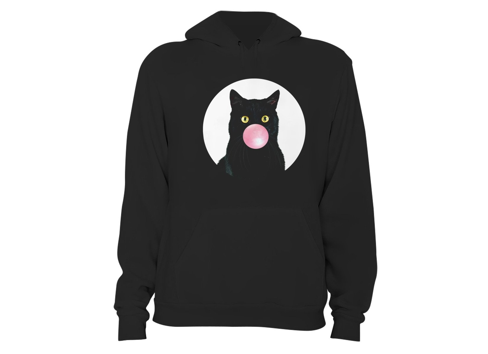 Bubble Cat on Hoodie
