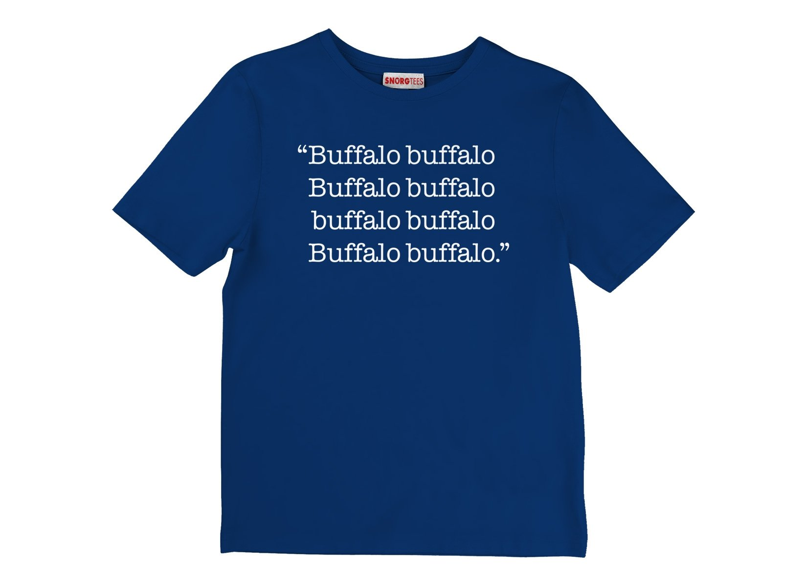 Buffalo buffalo on Kids T-Shirt