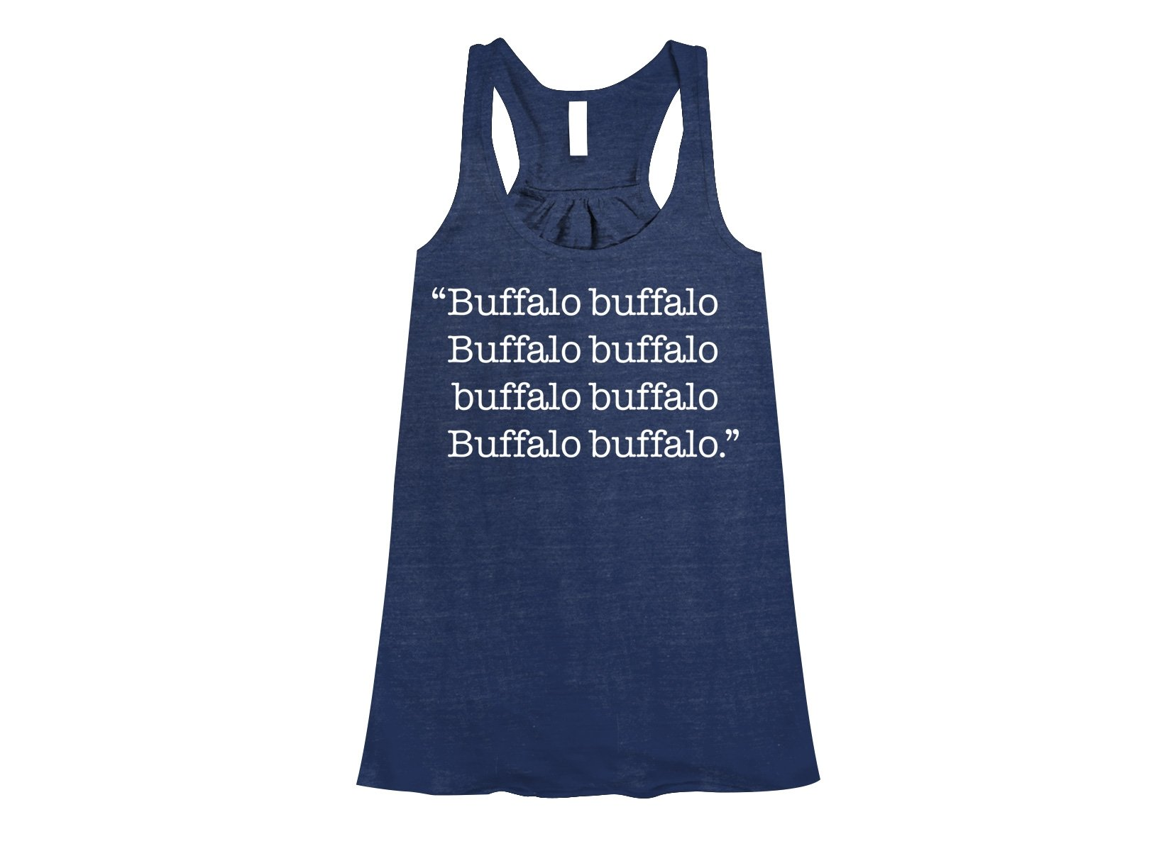 Buffalo buffalo on Womens Tanks T-Shirt