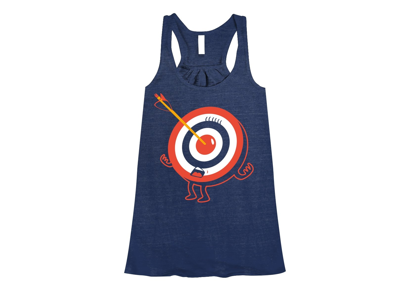 Bullseye on Womens Tanks T-Shirt