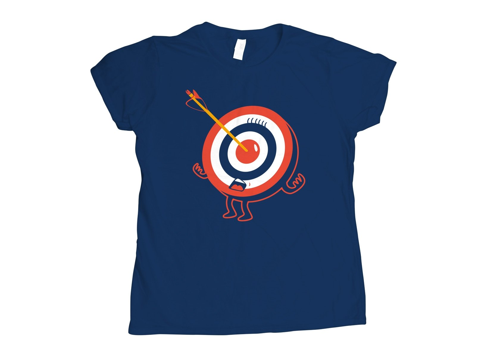 Bullseye on Womens T-Shirt