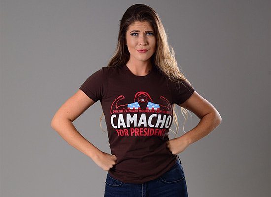 Camacho For President on Juniors T-Shirt