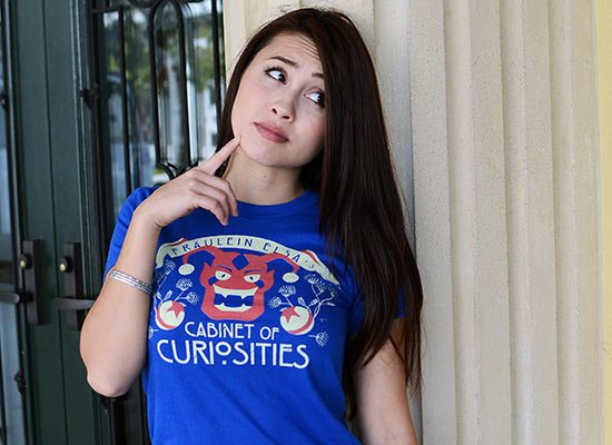 Cabinet Of Curiosities on Juniors T-Shirt