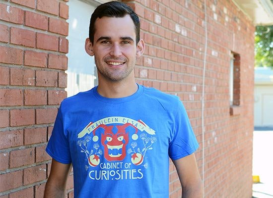 Cabinet Of Curiosities on Mens T-Shirt
