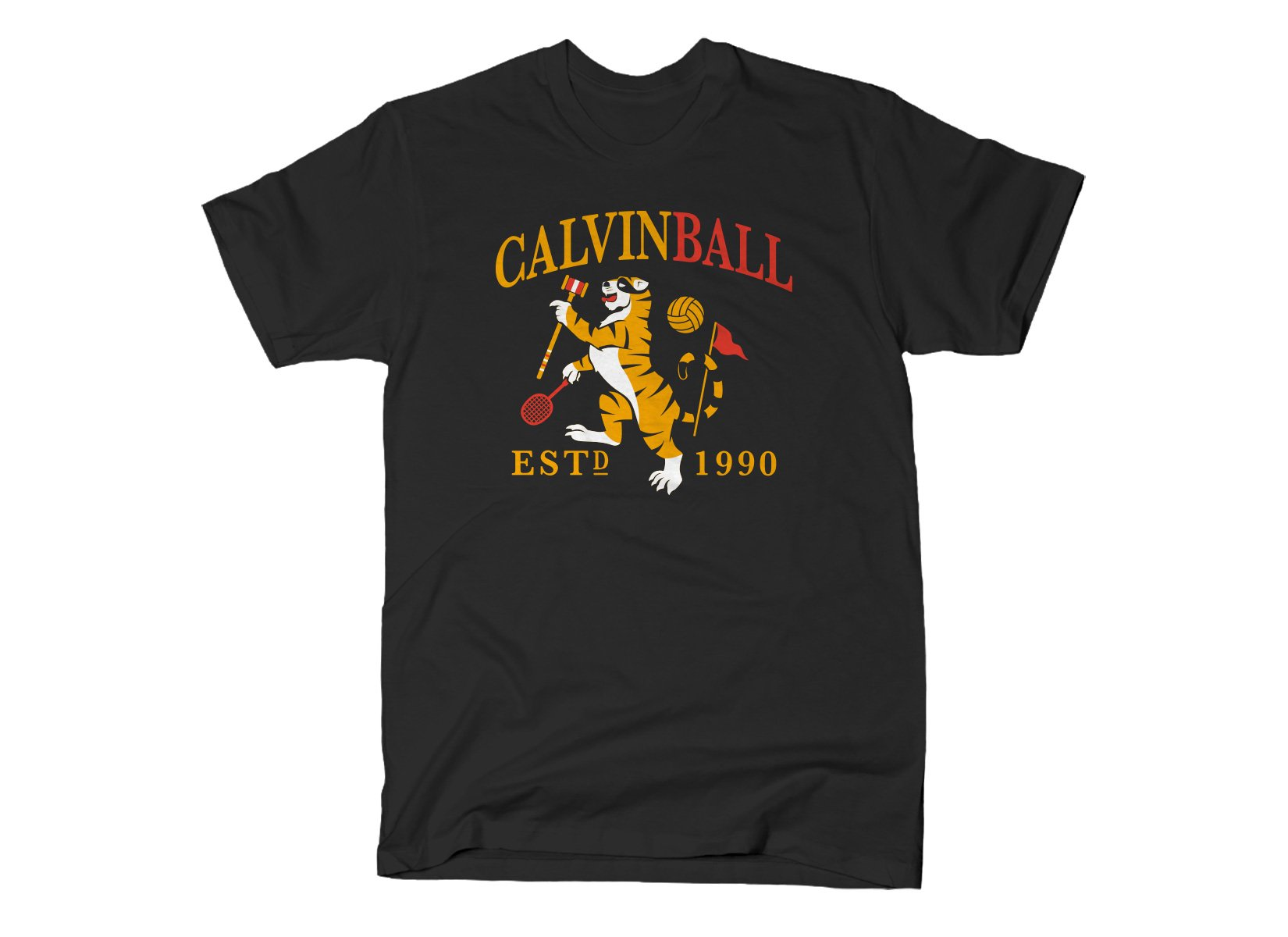 Calvinball on Mens T-Shirt
