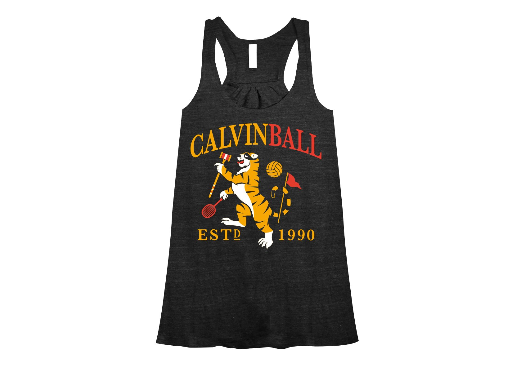 Calvinball on Womens Tanks T-Shirt