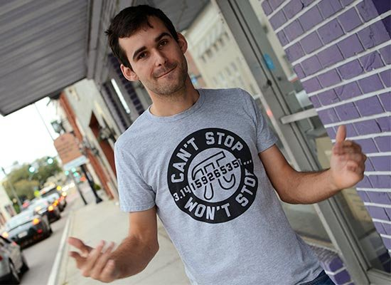 Can't Stop Won't Stop on Mens T-Shirt
