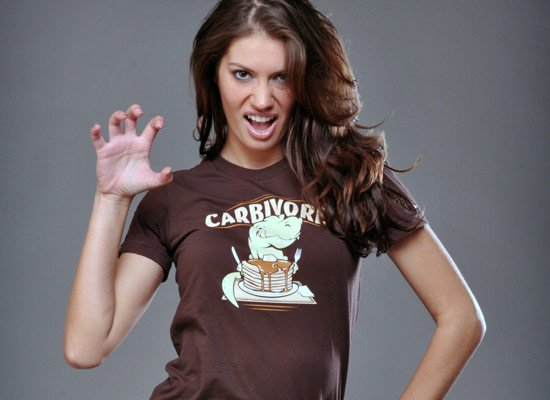 Carbivore on Juniors T-Shirt