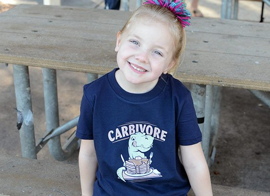 Carbivore on Kids T-Shirt