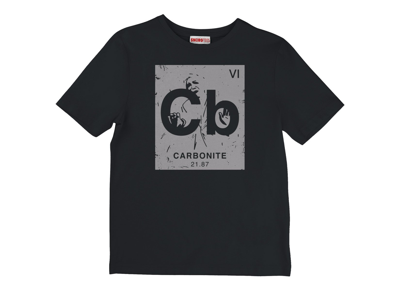 Carbonite Element on Kids T-Shirt