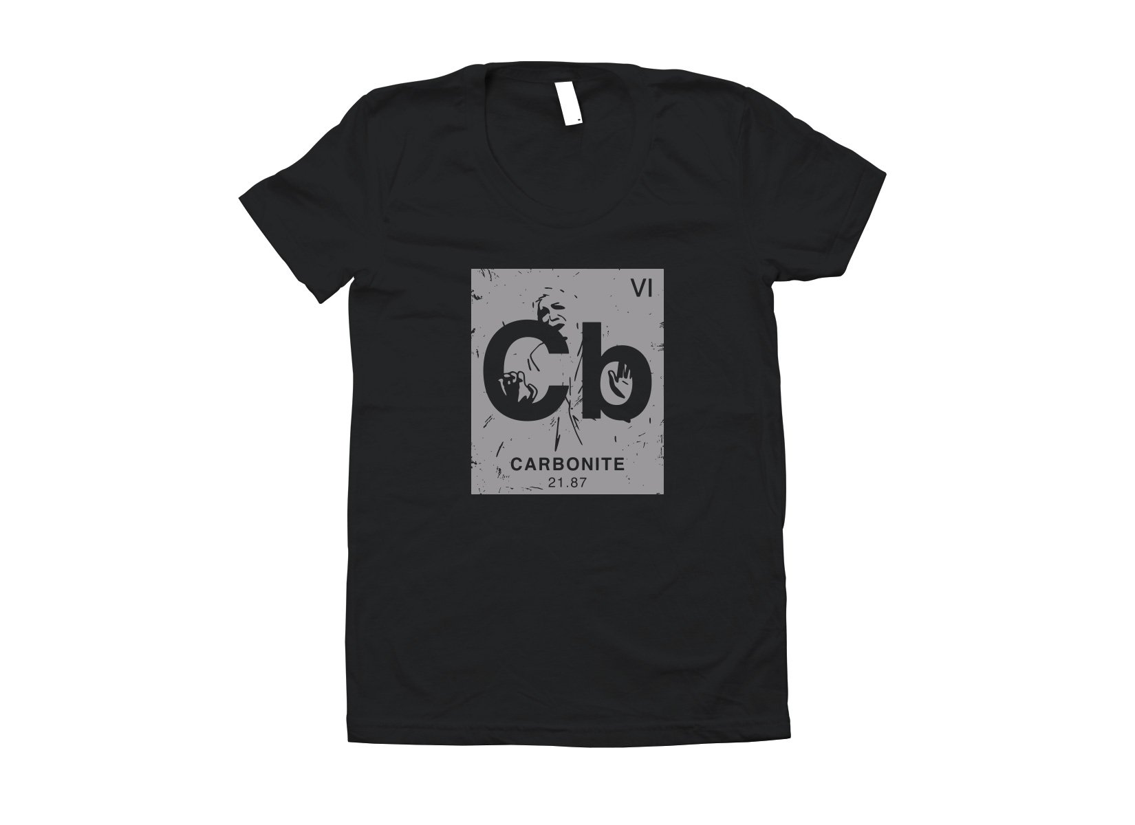 Carbonite Element on Juniors T-Shirt