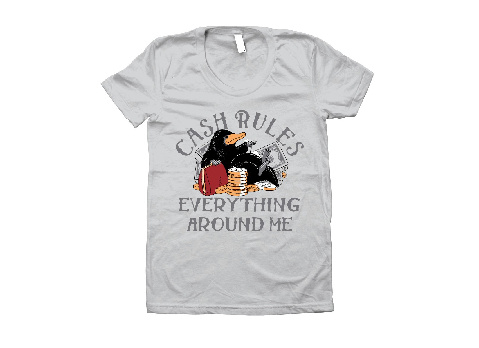 Cash Rules Everything Around Me on Juniors T-Shirt