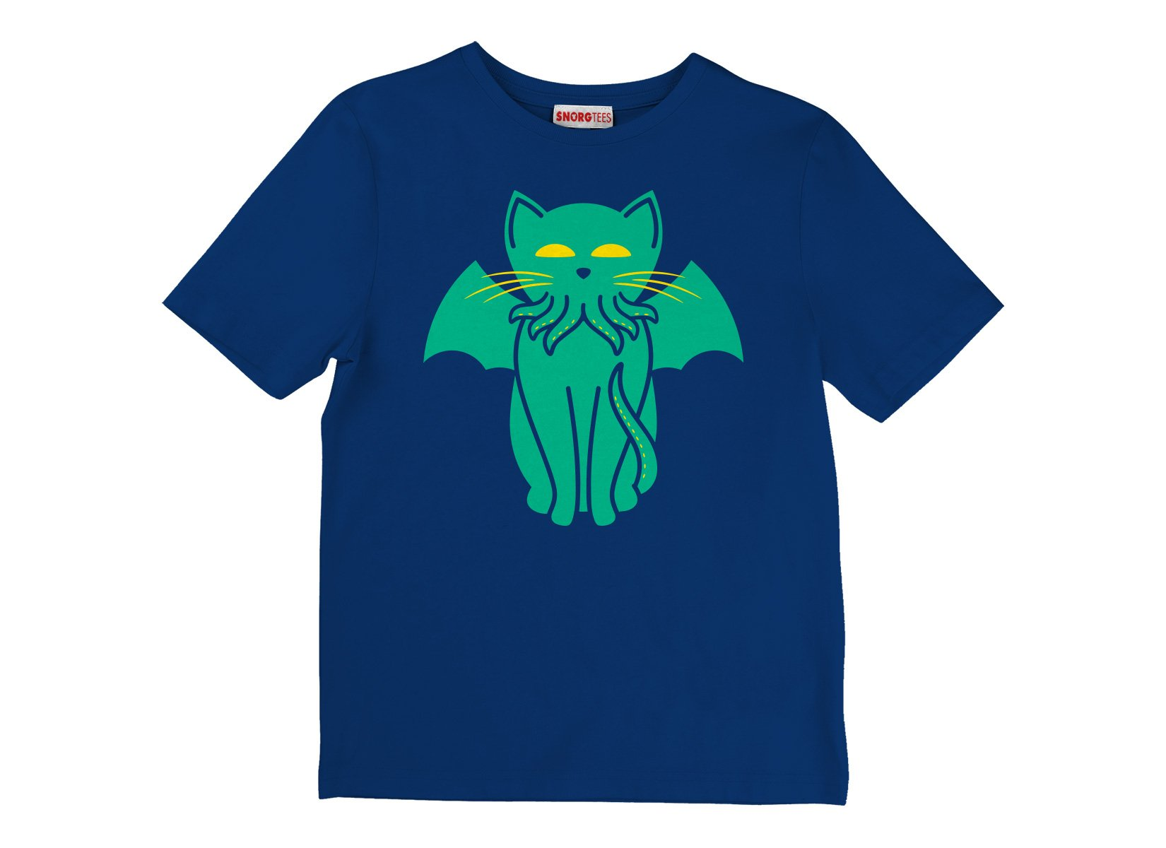 Cathulhu on Kids T-Shirt