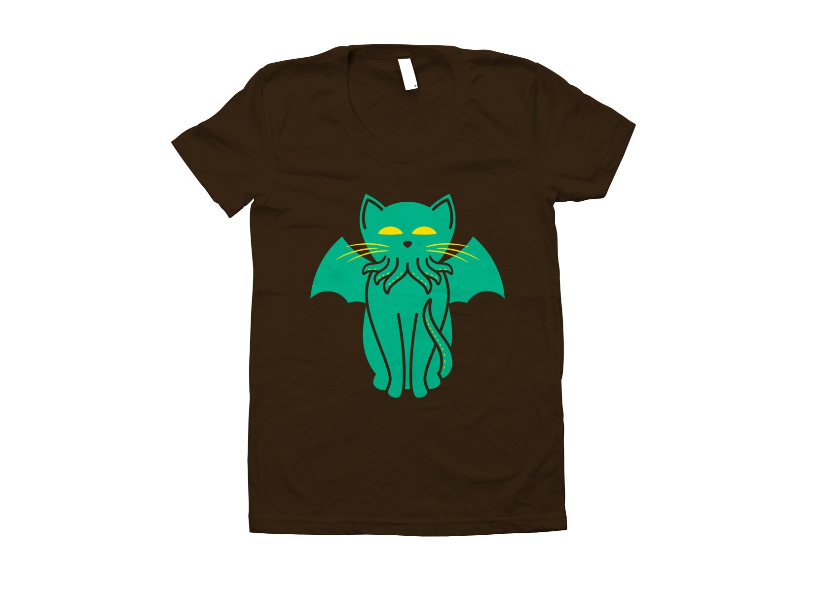 Cathulhu on Juniors T-Shirt
