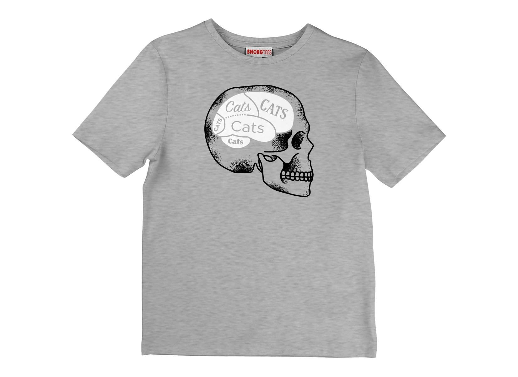 Cats On The Brain on Kids T-Shirt