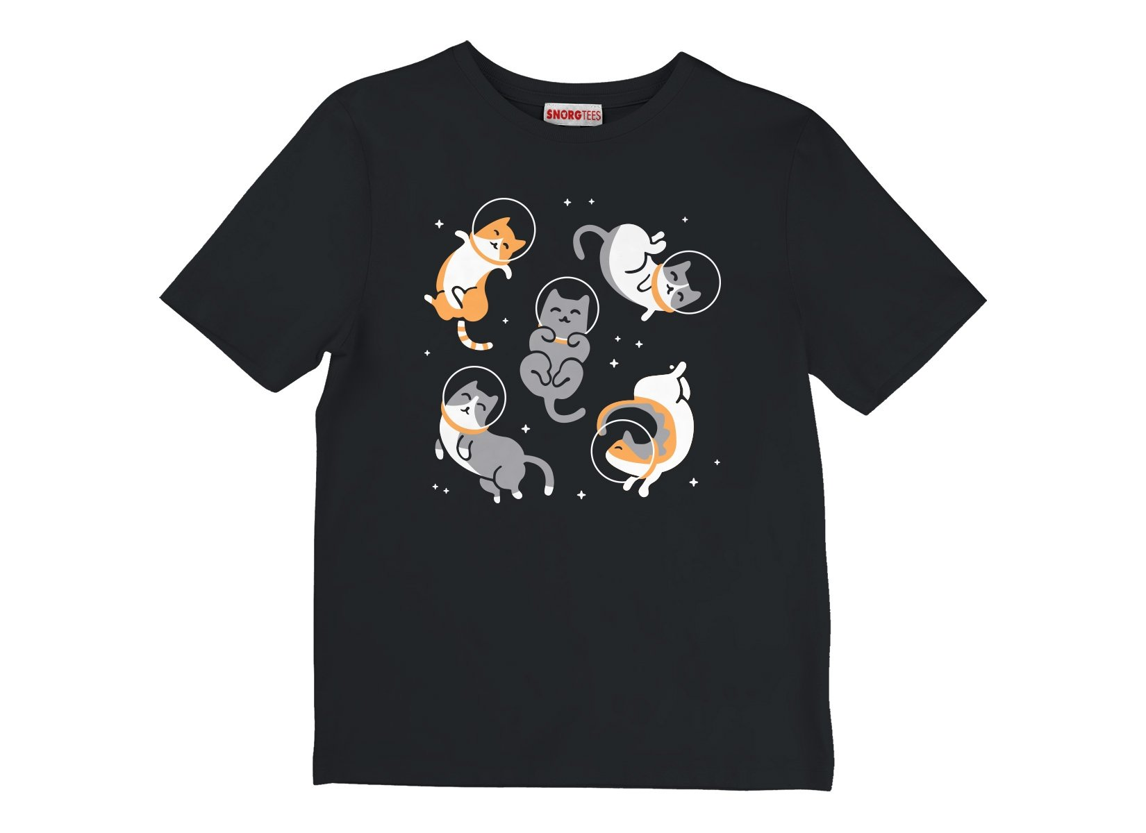 Cats In Space on Kids T-Shirt