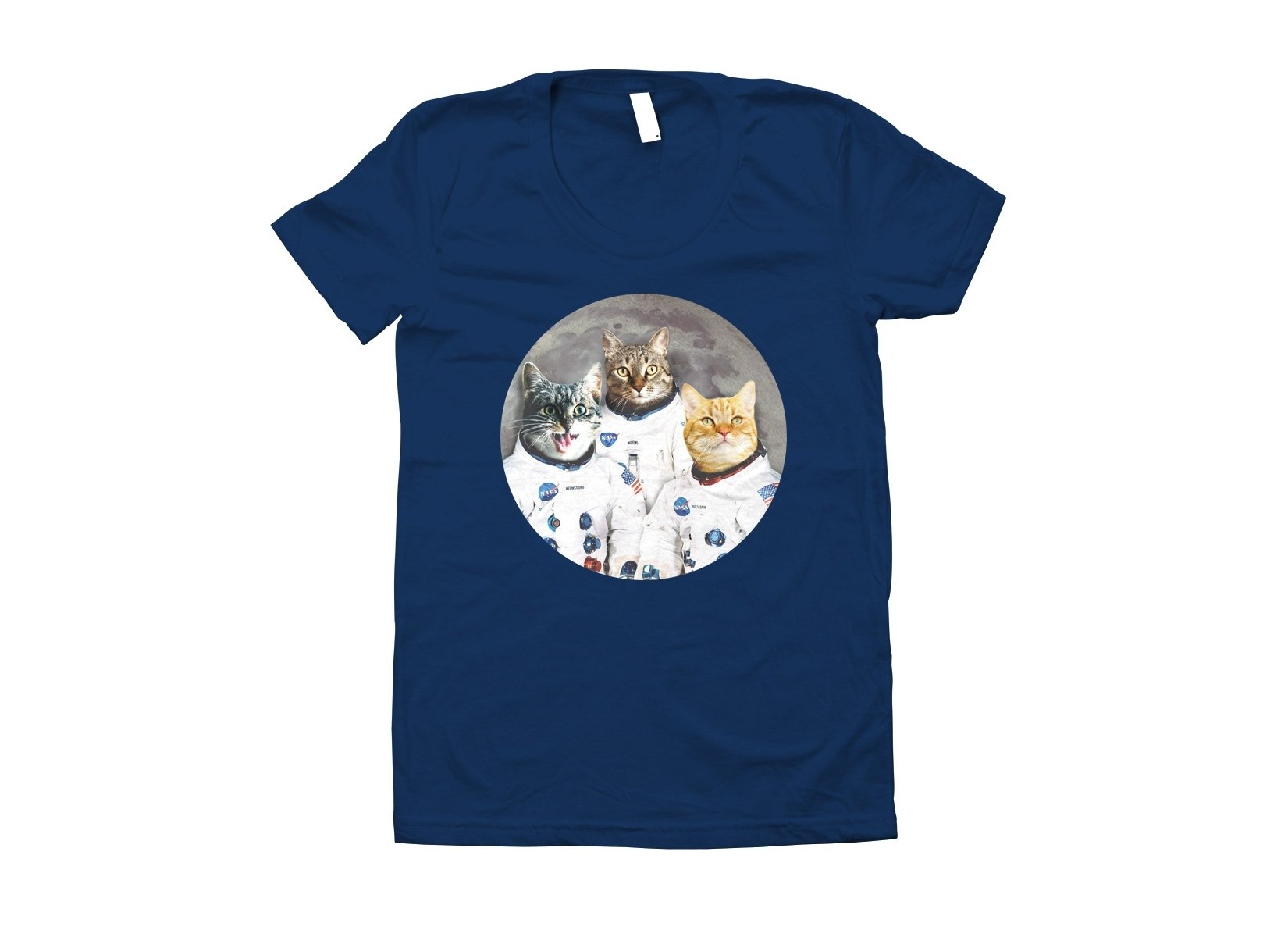 Catstronauts on Juniors T-Shirt