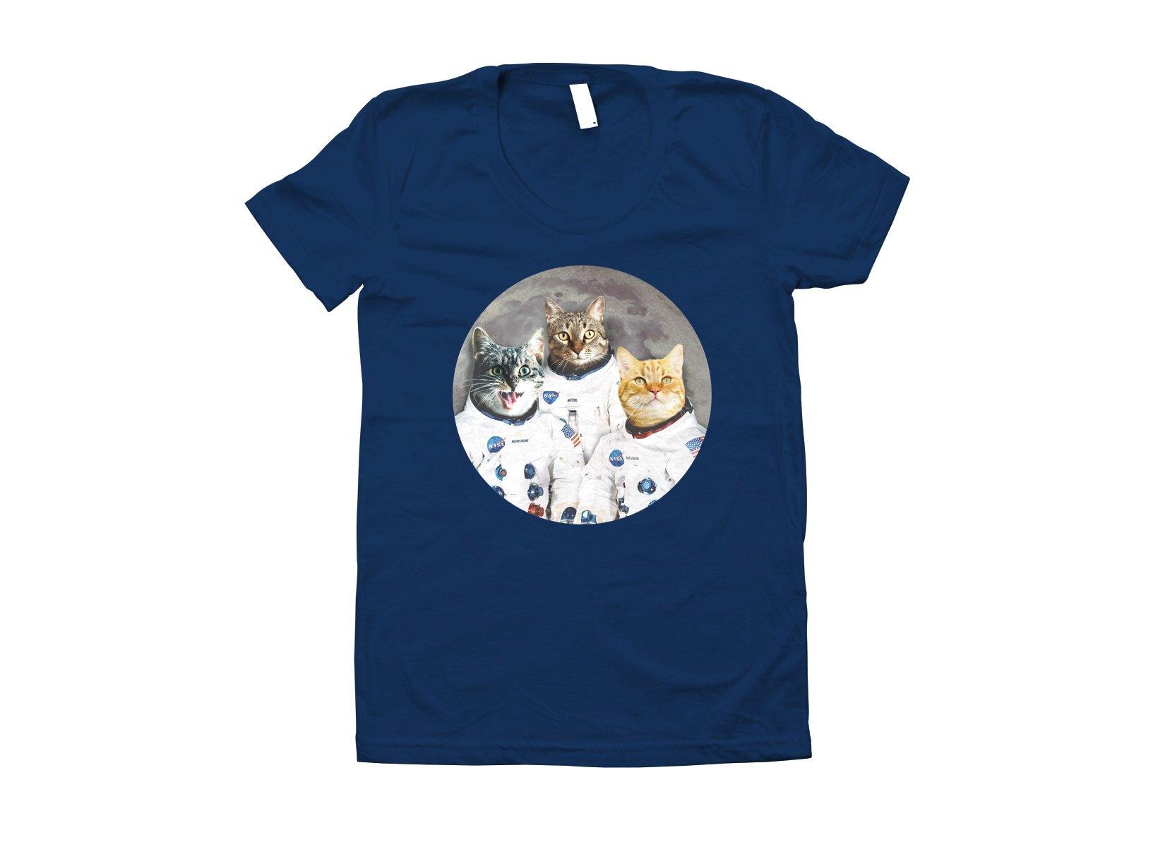 Catstronauts on Juniors T-Shirt