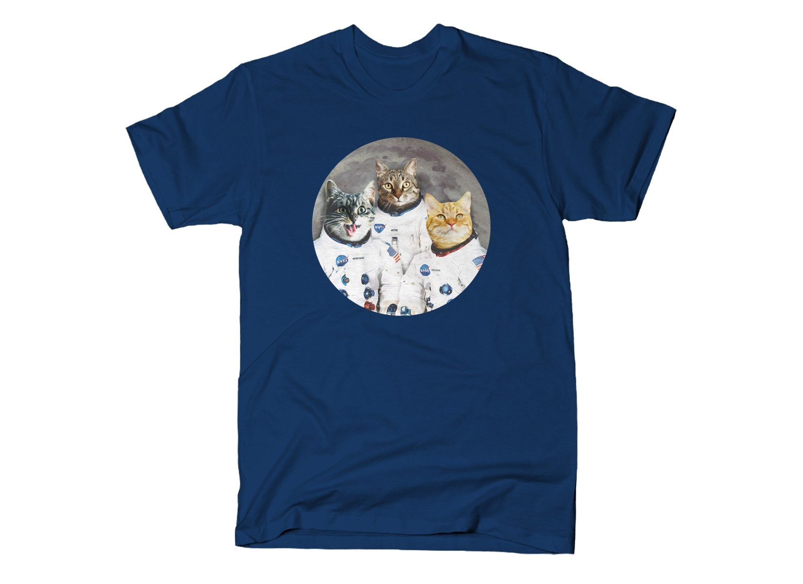 Catstronauts on Mens T-Shirt