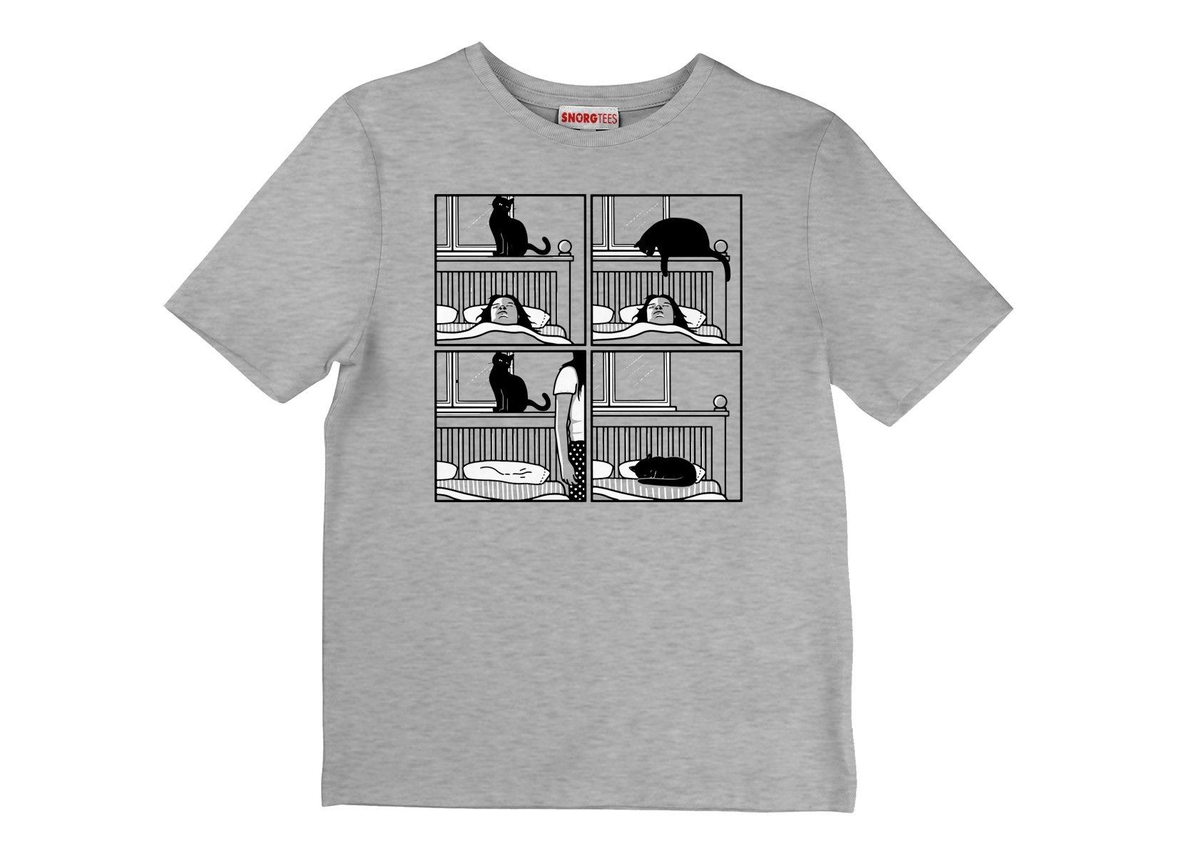 Cat Tap on Kids T-Shirt