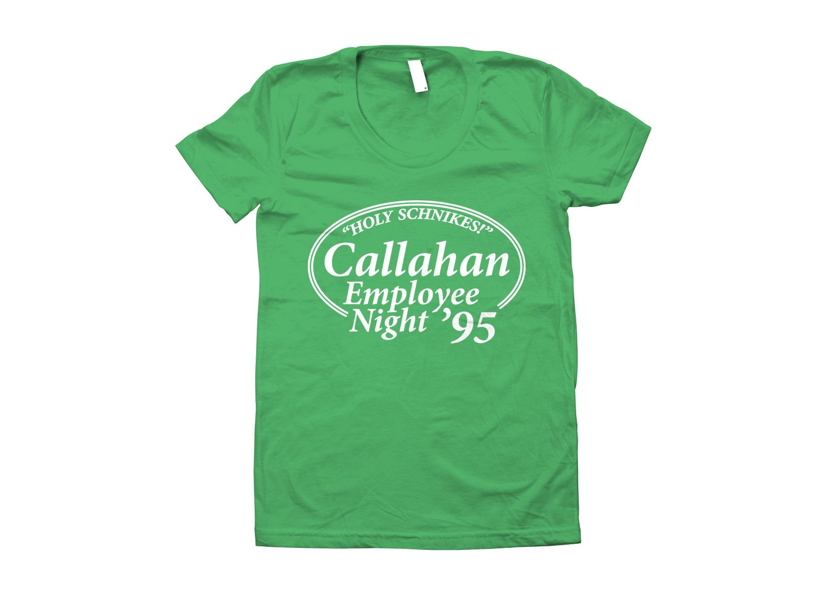 Callahan Employee Night on Juniors T-Shirt