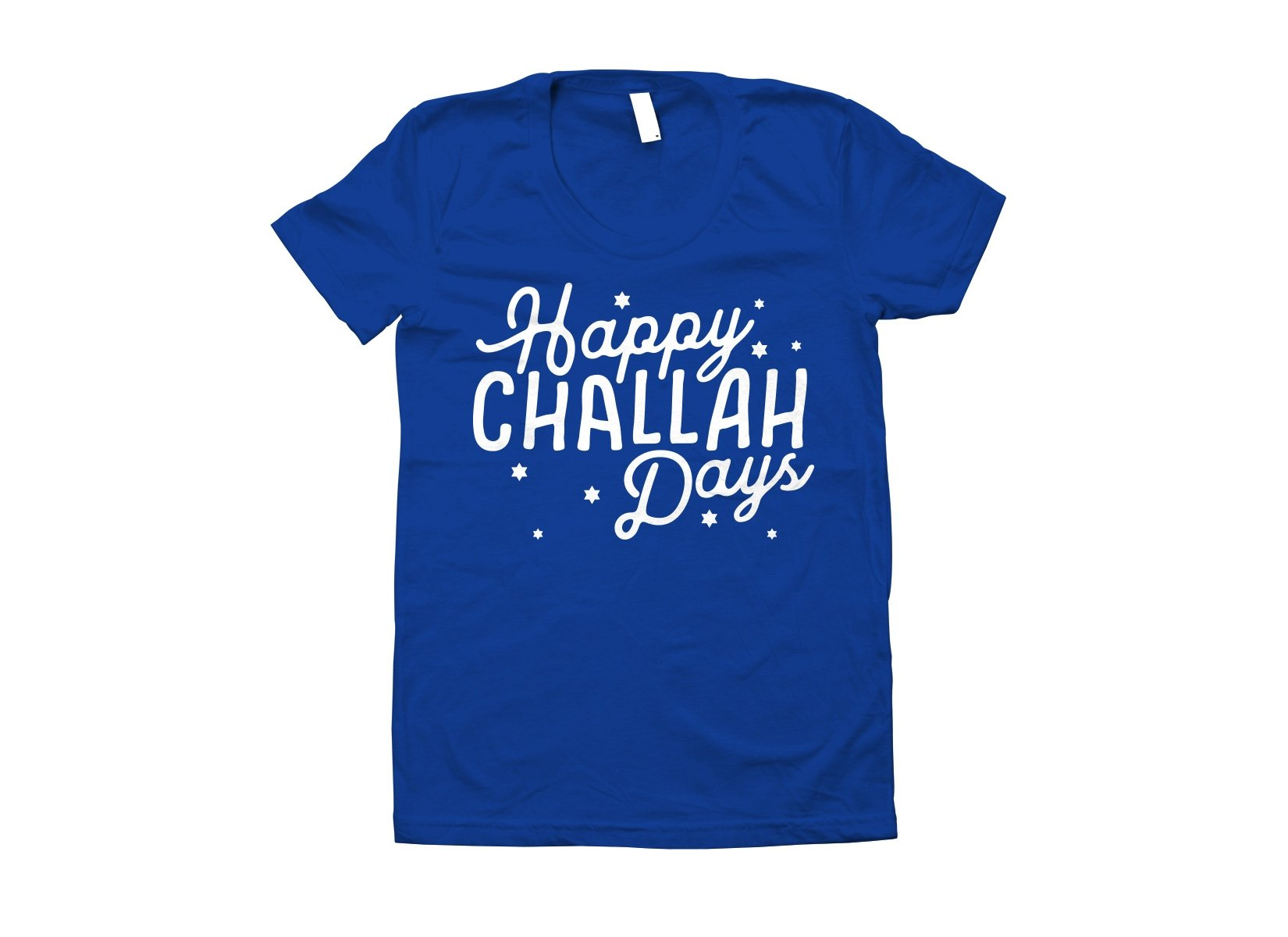 Happy Challah Days on Juniors T-Shirt