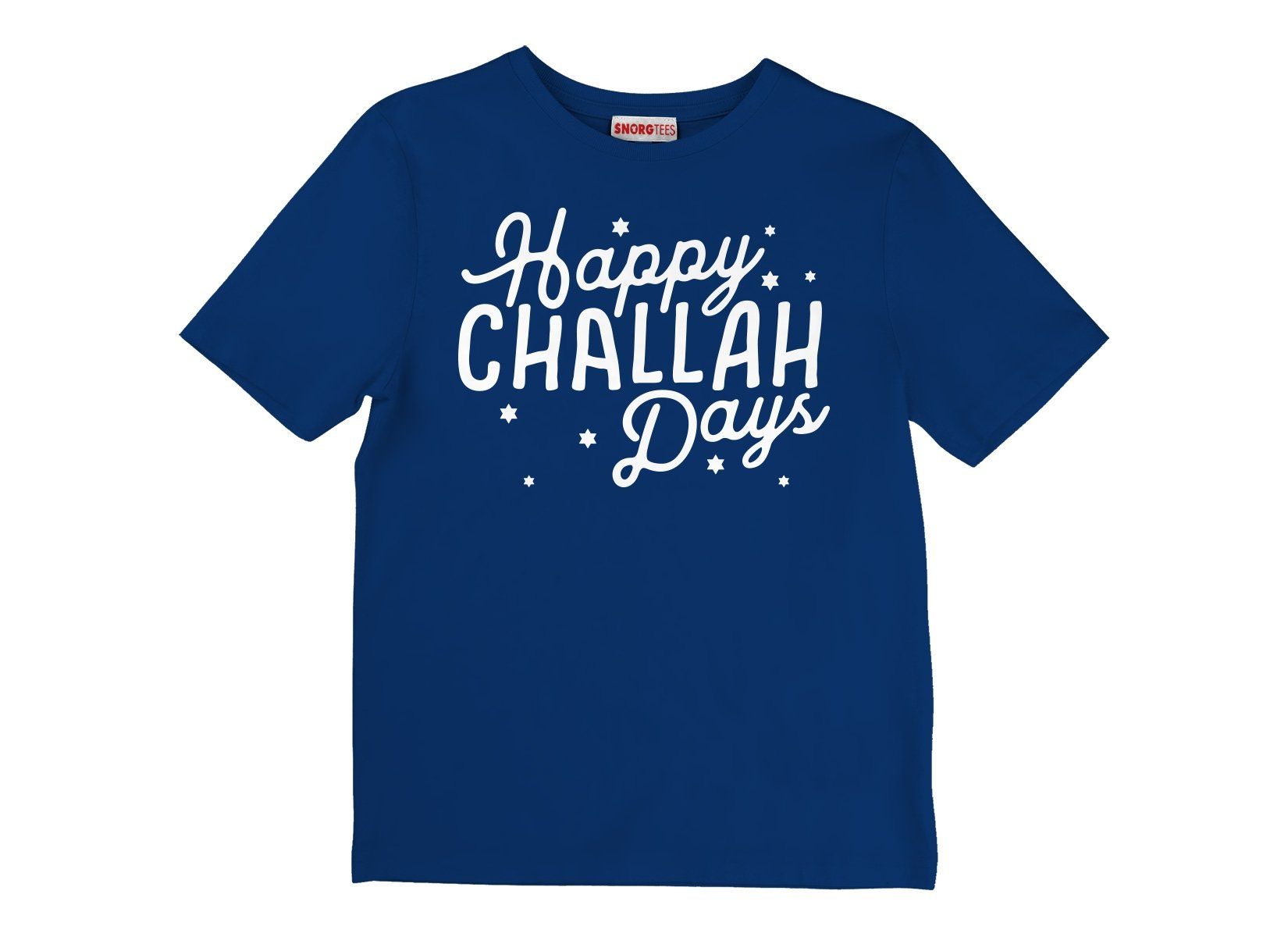Happy Challah Days on Kids T-Shirt