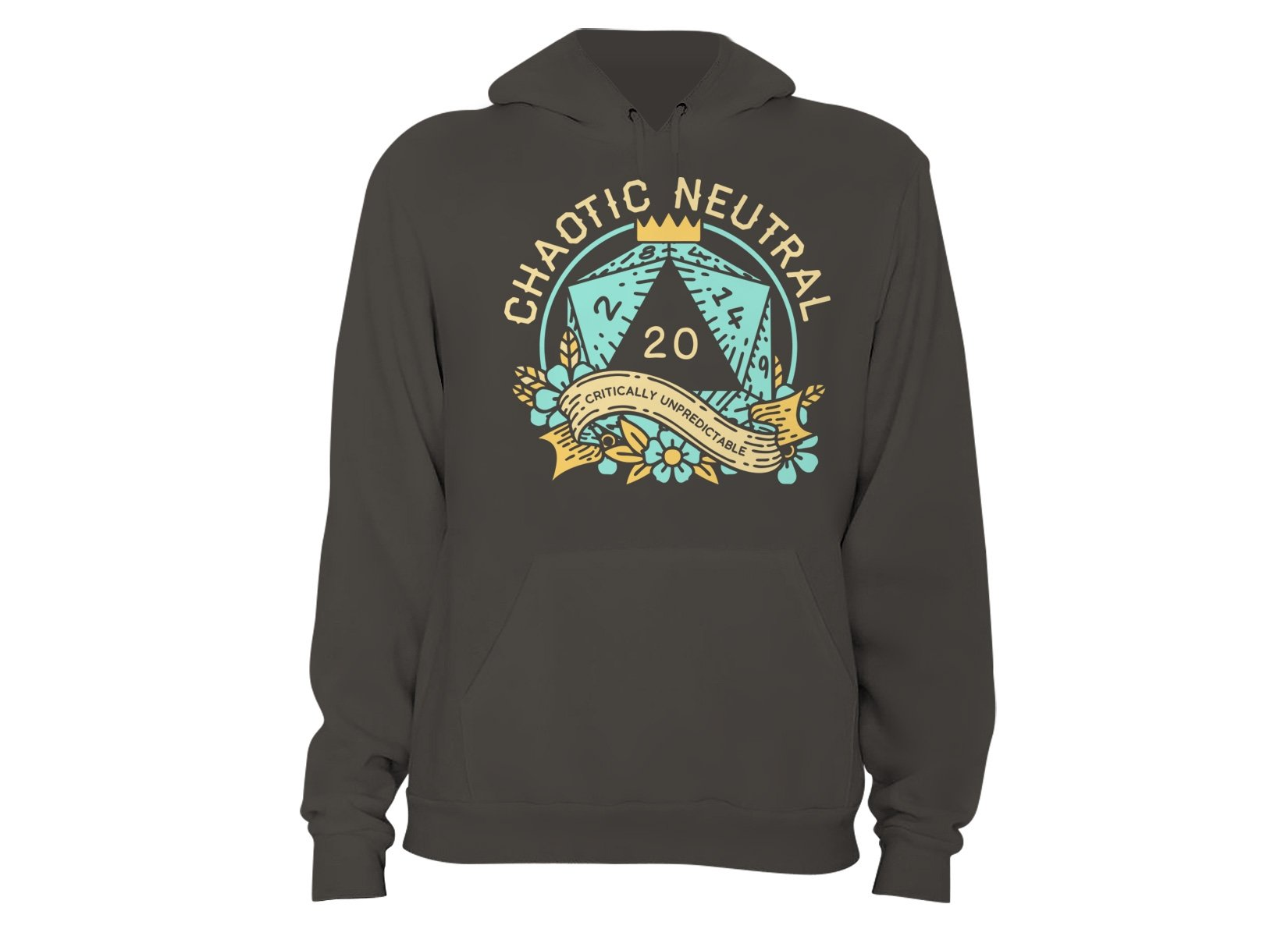 Chaotic Neutral on Hoodie