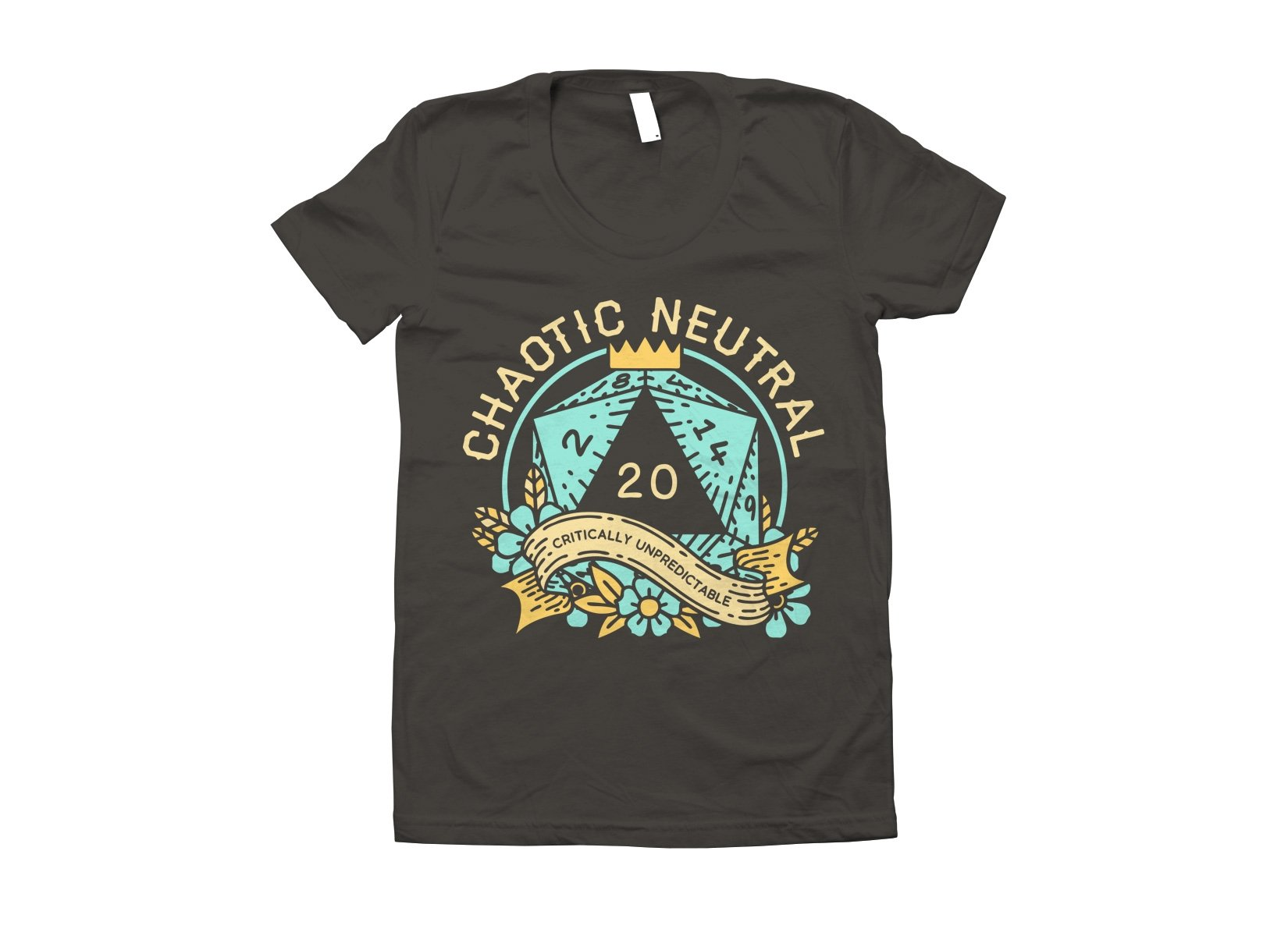 Chaotic Neutral on Juniors T-Shirt