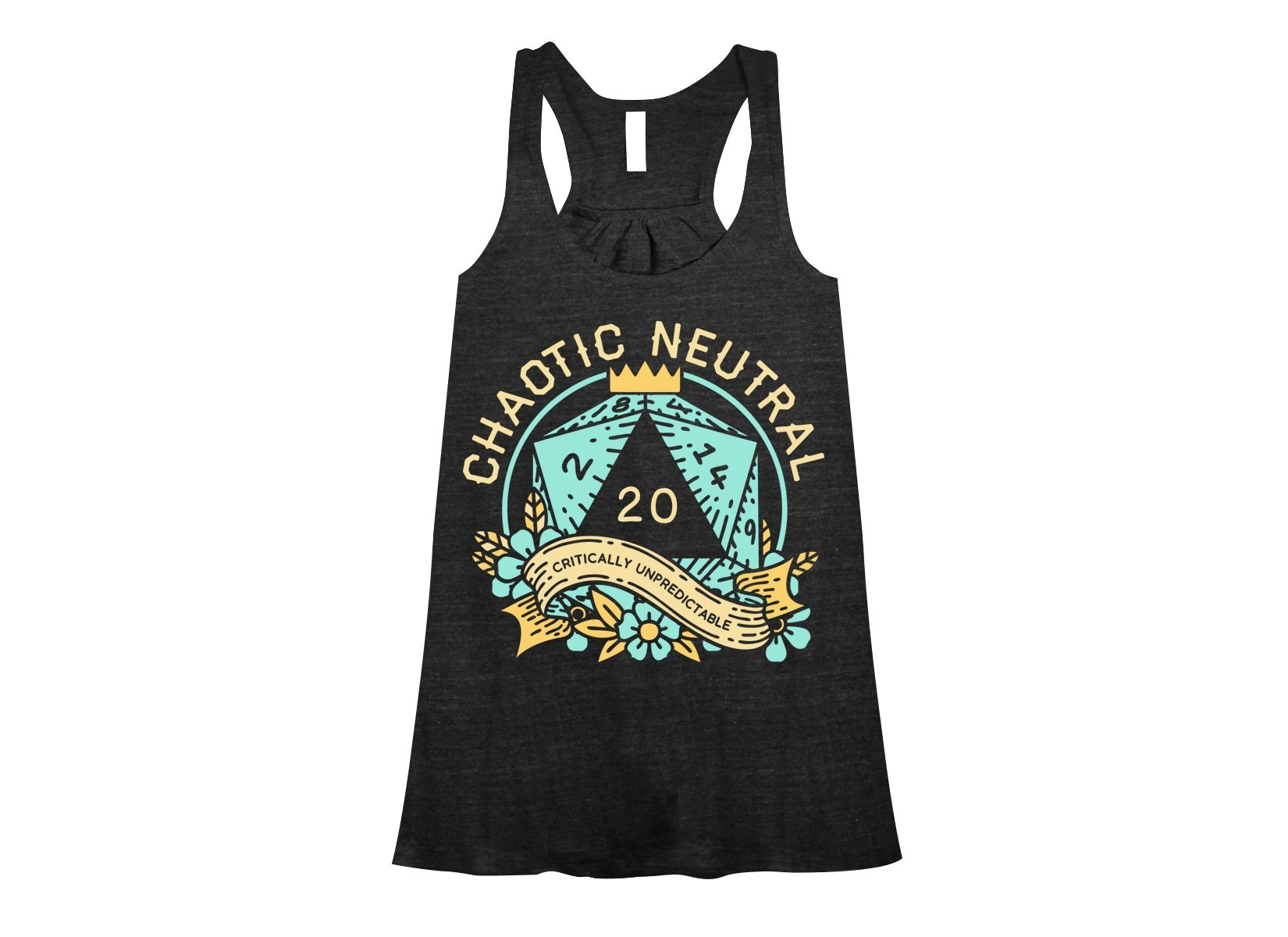 Chaotic Neutral on Womens Tanks T-Shirt