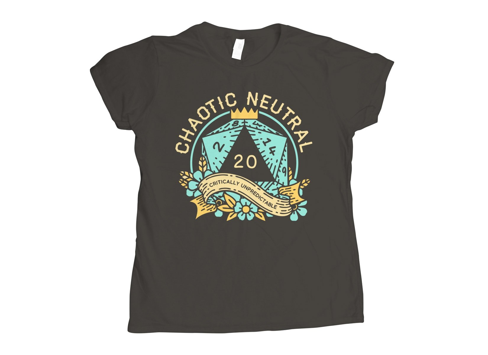 Chaotic Neutral on Womens T-Shirt