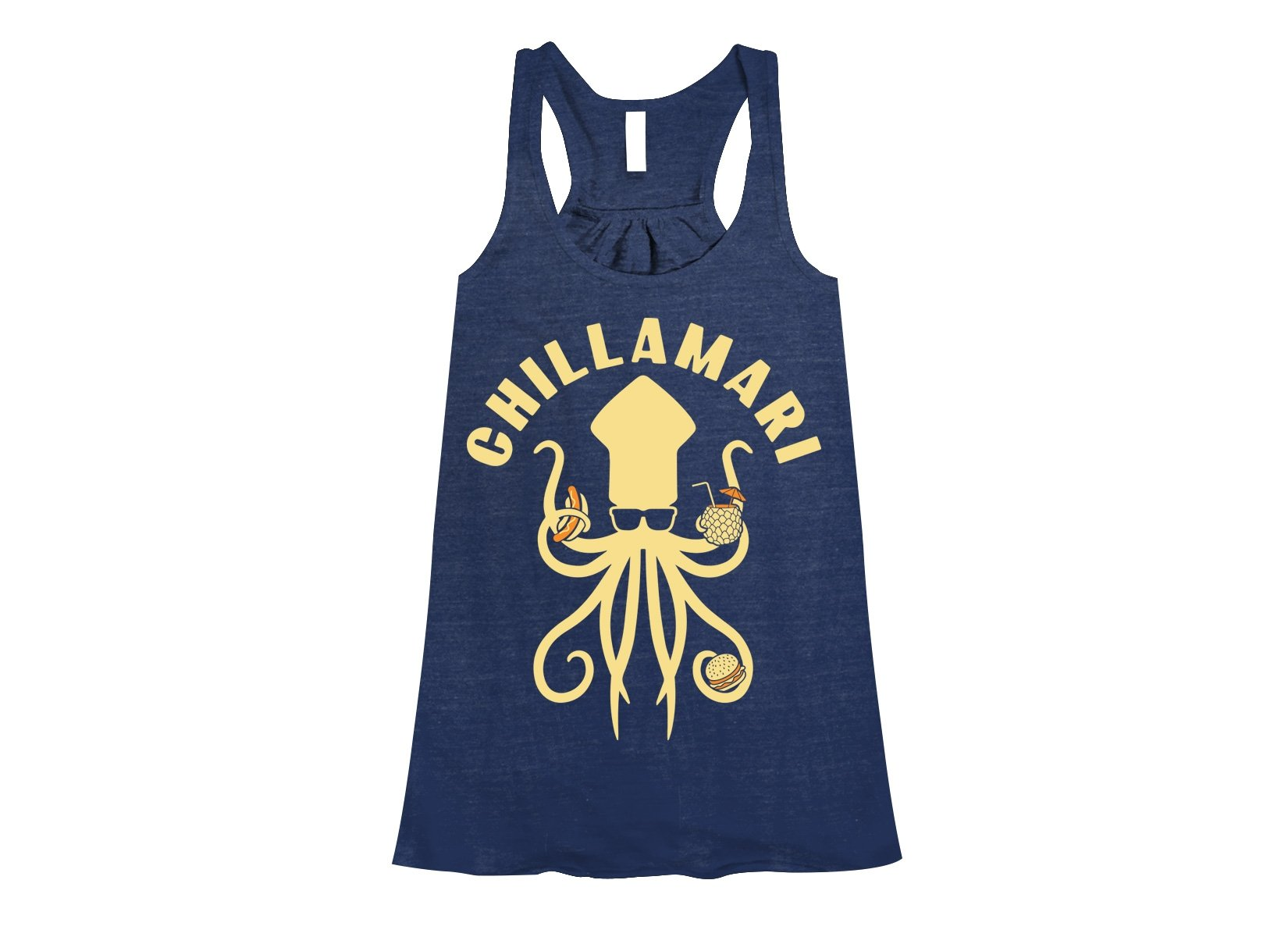 Chillamari on Womens Tanks T-Shirt