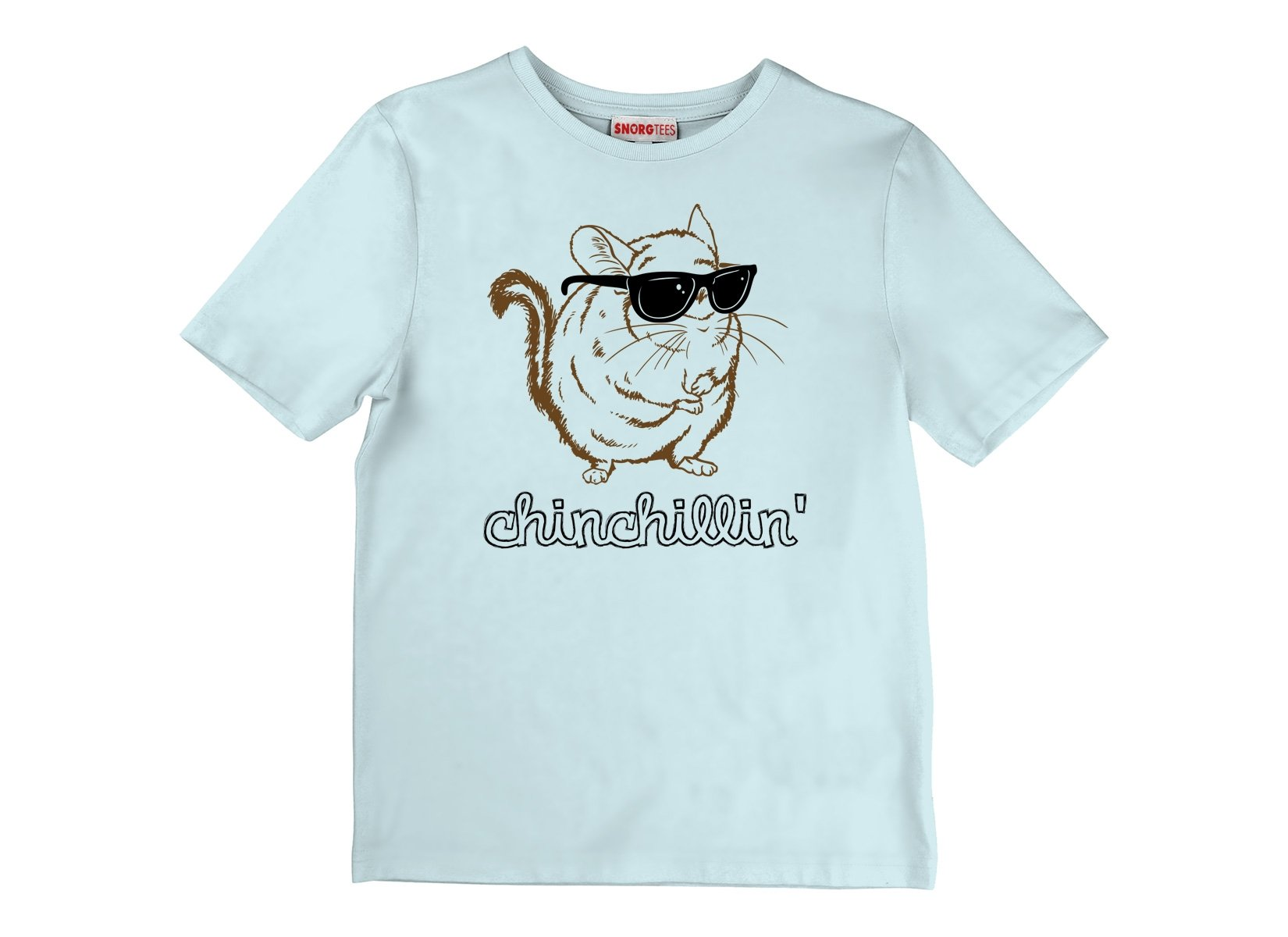 Chinchillin on Kids T-Shirt