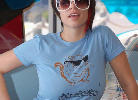 Chinchillin on Juniors T-Shirt