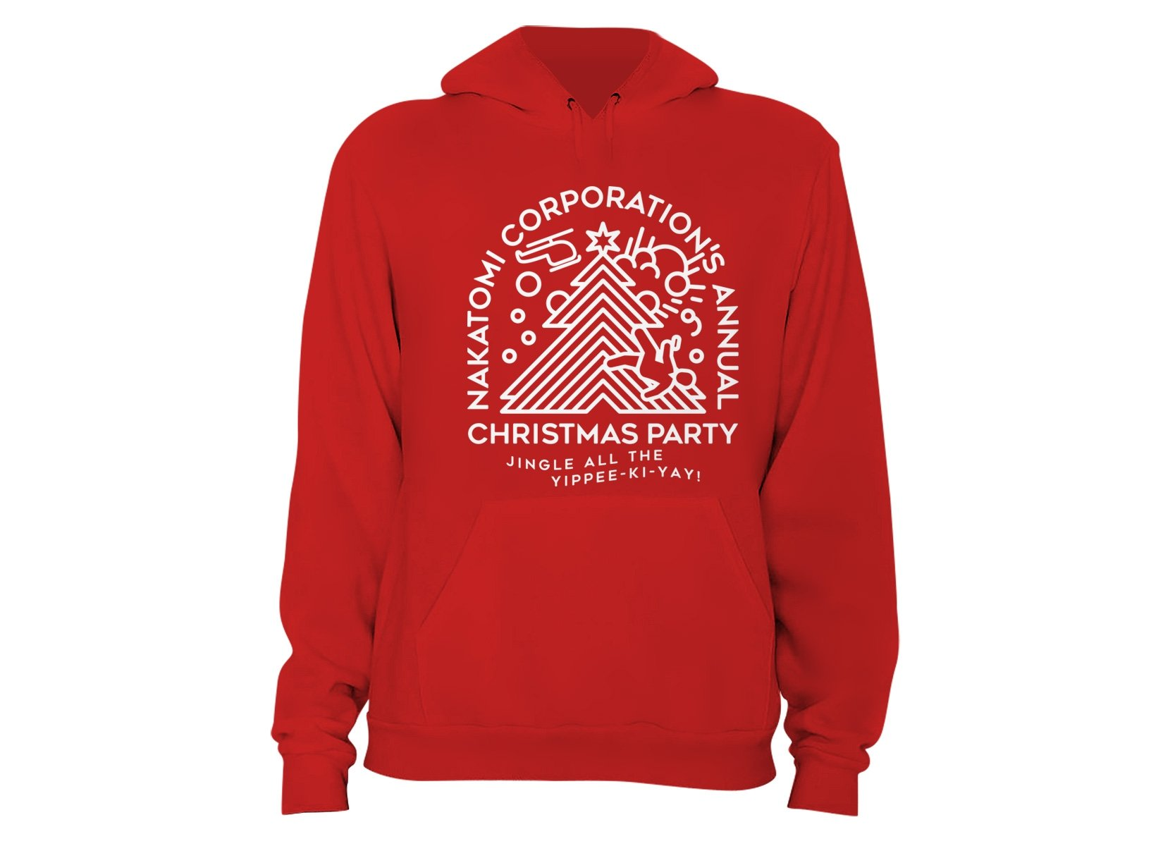 Nakatomi Christmas Party on Hoodie